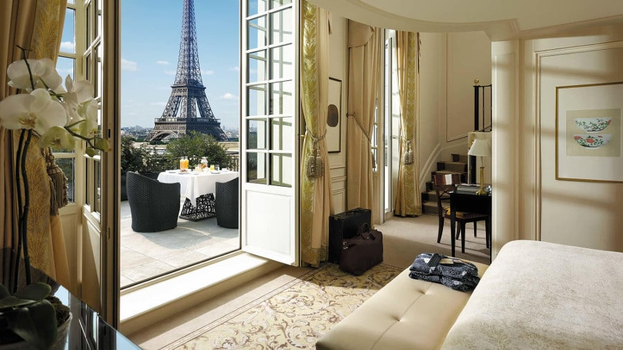 Top 5 des meilleurs hôtels à Paris