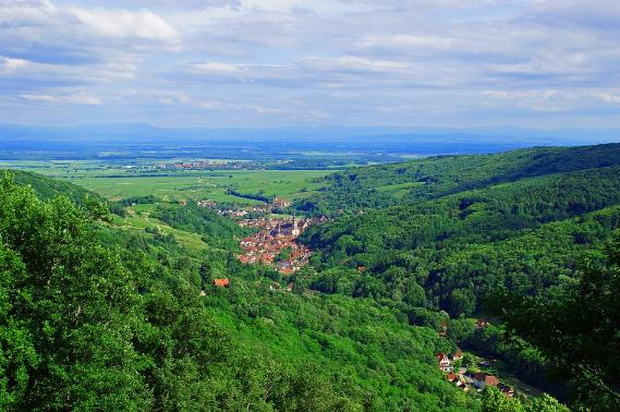 Partir en vacances en Alsace