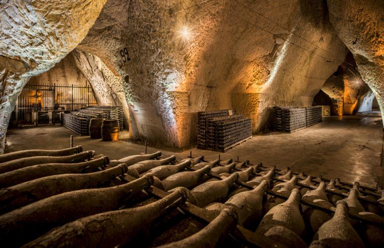 Aventure : visite de cave en Champagne