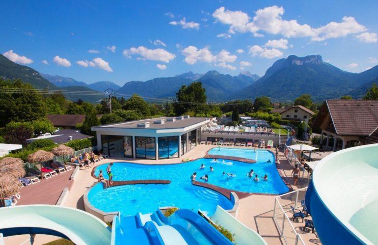 Quels campings avec piscine pas cher à Annecy ?