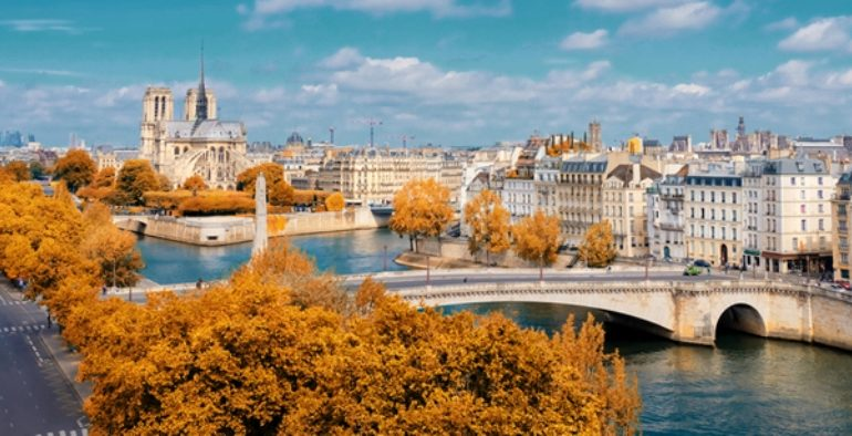 Paris, la ville la plus célèbre d'Europe
